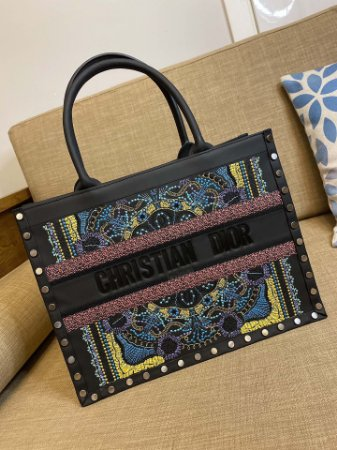 "Bolsa Tote Dior Book In Lights  ""Multicolors"""