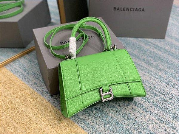 "Bolsa Balenciaga Tote Hourglass ""Green"""