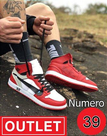 Botinha basquete cano medio NUMERO 39 - OUTLET