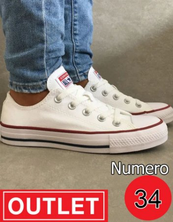 All star branco NUMERO 34 - OUTLET