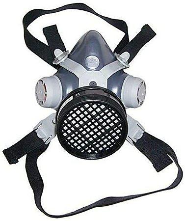 Máscara Respiratória Com Filtro P/ Vapores Orgânicos E Gases Ácidos