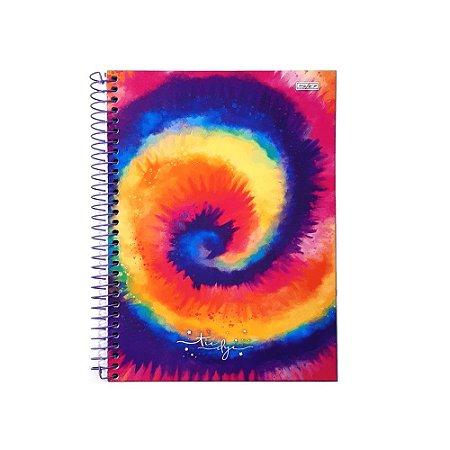 Caderno 10 Matérias 160F Tie Dye São Domingos