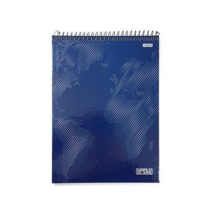 Caderno Espiral 1 Matéria 80F World Class São Domingos