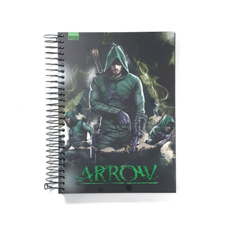 Caderno Universitário 15 Matérias 300F Arrow São Domingos