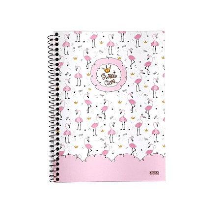 Caderno Universitário 1 Matéria 80F Sweet Care São Domingos