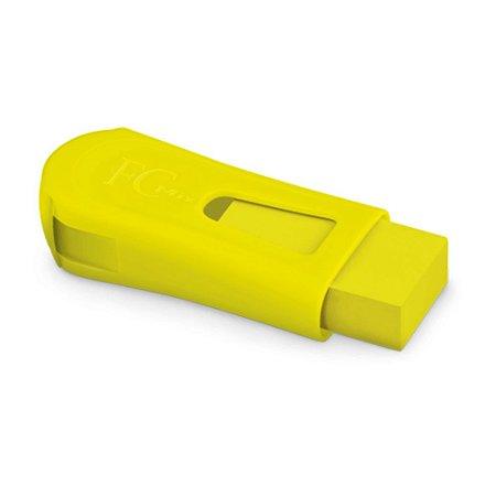 Apontador Com Depósito e Borracha Cores Neon Faber Castell