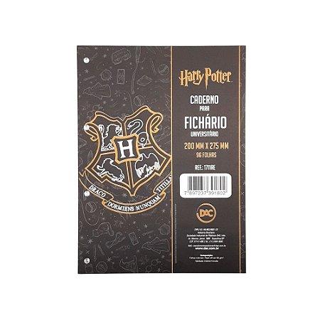 Caderno para Fichário Universitário 96 folhas Harry Potter