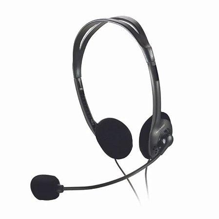 Headset Multimídia Notebook e PC Multilaser PH002