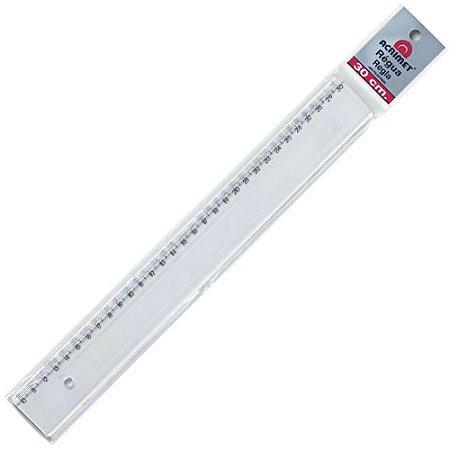 Régua Cristal 30cm Acrimet 981.0