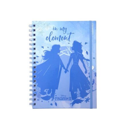 Caderno Bullet Journal Frozen 2 80 folhas papel 70g/m² Container