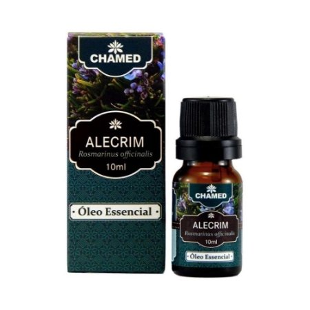 Óleo Essencial de Alecrim 10ml - Chamel