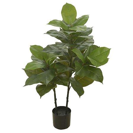 Árvore Ficus Elástica Real Toque (Plantada) - 1 metro