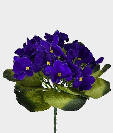 Buquê Violeta 22cm - Violeta