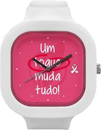 Relógio Outubro Rosa - G 45mm