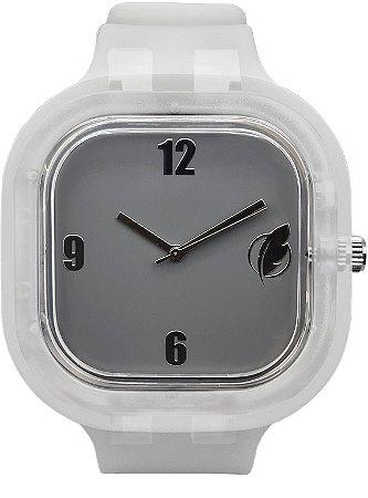 Relógio Cinza / Invisible