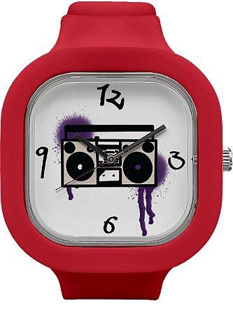 Relógio BoomBox - Marsala