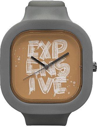Relógio Expensive - Cinza
