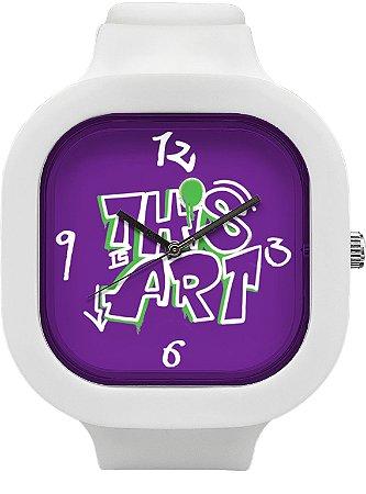 Relógio This is Art - Branco