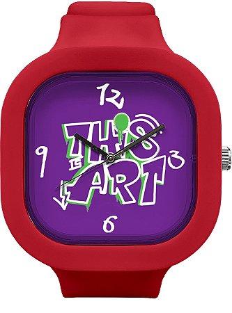 Relógio This is Art - Marsala