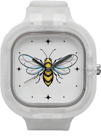 Relógio Abelha - Invisible