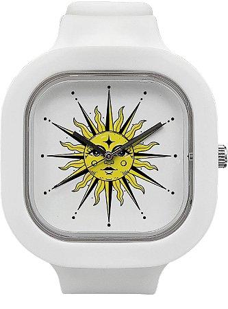 Relógio Sol - Branco