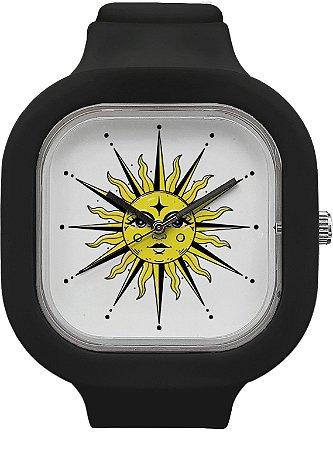 Relógio Sol - Preto