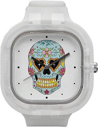 Relógio Caveira Mexicana - Invisible