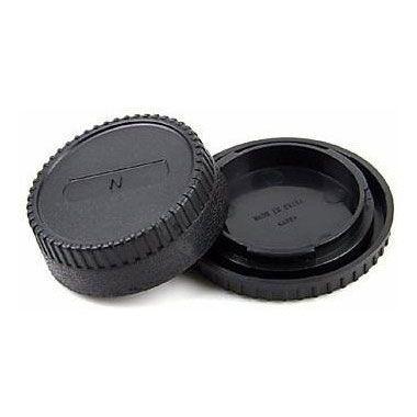 Kit de Tampas Greika - Para DSLR Nikon e Lente F-Mount