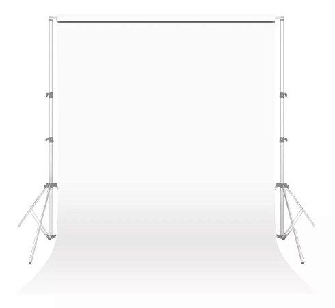 Tecido Para Fundo Infinito Branco - Greika - 3 x 5 metros