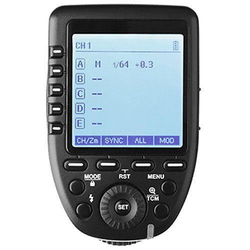 Transmissor Rádio Flash Godox - XPRO-N (para Nikon)