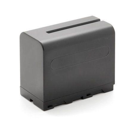 Bateria recarregável genérica (tipo Sony NP-F970) - 7.4V - 6000mAh