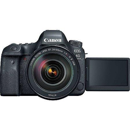 Canon EOS 6D Mark II + Lente EF 24-105mm f/4.0L IS II USM