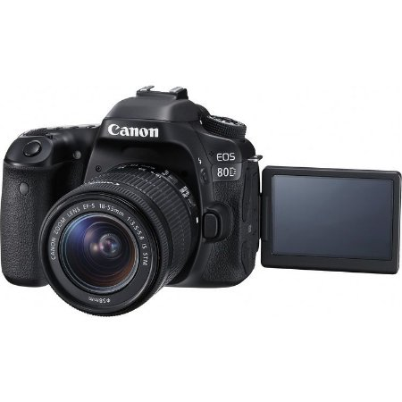 Canon EOS 80D + Lente 18-55mm STM