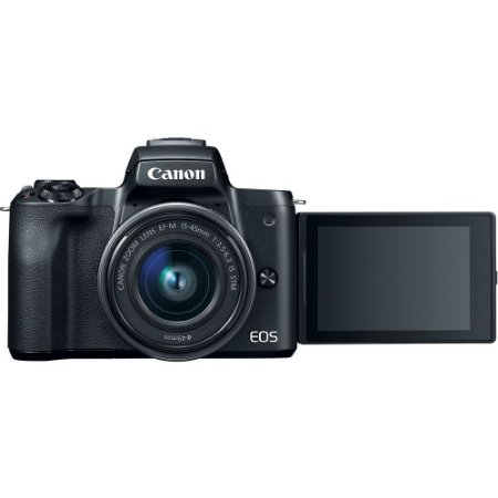 Canon EOS M50 Mirrorless + Lente 15-45mm STM