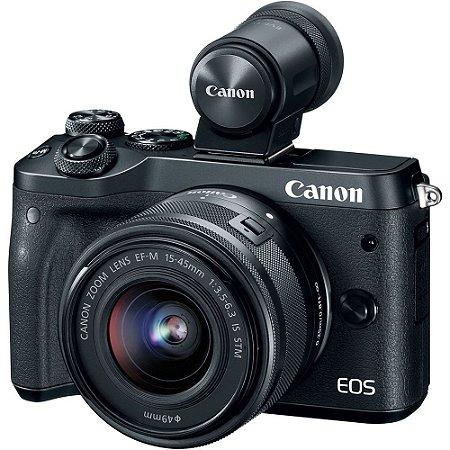 Canon EOS M6 Mark II Mirrorless + Lente 15-45mm STM + Visor EVF-DC2