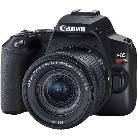 Canon EOS Rebel SL3 (250D) + 18-55mm STM