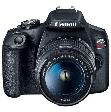 Canon EOS Rebel T7 (1500D/2000D) + Lente 18-55mm f/3.5-5.6 IS II