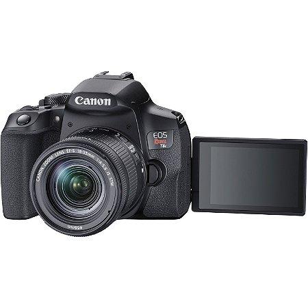 Canon EOS Rebel T8i (850D)  + Lente 18-55mm STM