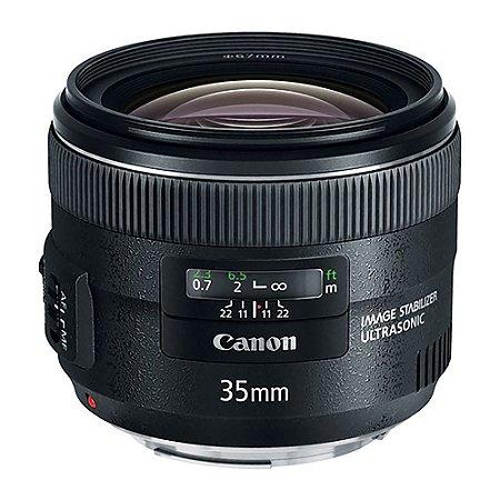 Lente Canon EF 35mm f/2.0 IS USM