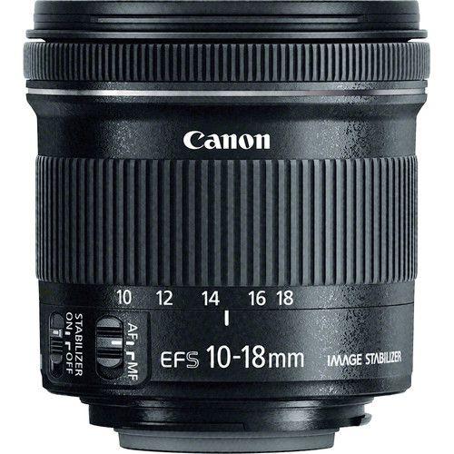 Lente Canon EF-S 10-18mm f4.5-5.6 IS STM