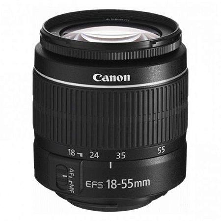 Lente Canon EF-S 18-55mm f3.5-5.6 III
