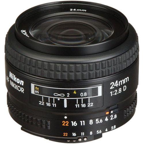 Lente Nikon AF 24mm f/2.8D