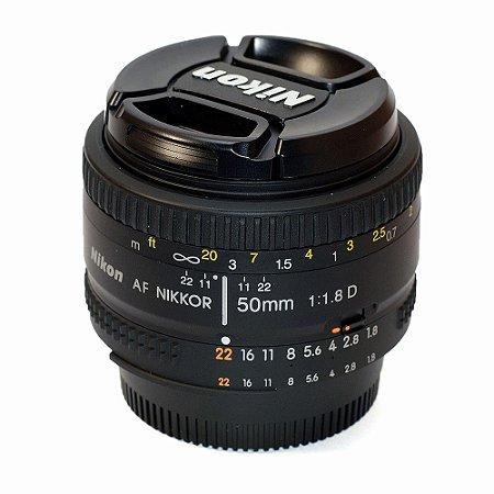 Lente Nikon AF 50mm 1.8D