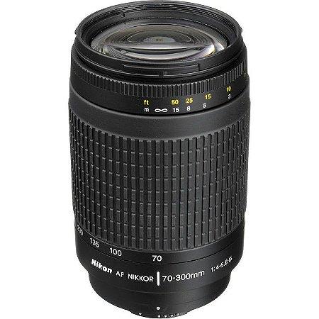 Lente Nikon AF 70-300mm f/4-5.6G