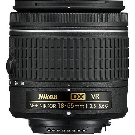 Lente Nikon AF-P DX 18-55mm f/3.5-5.6 G  VR