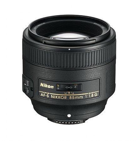 Lente Nikon AF-S 85mm f/1.8G
