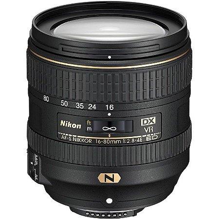 Lente Nikon AF-S DX 16-80mm f/2.8-4E ED VR
