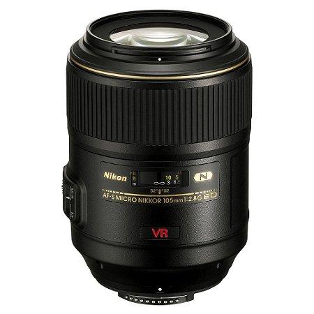 Lente Nikon AF-S VR Micro 105mm f/2.8G IF-ED