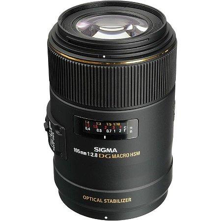 Lente Sigma 105mm f/2.8 EX DG OS HSM Macro (para Nikon)