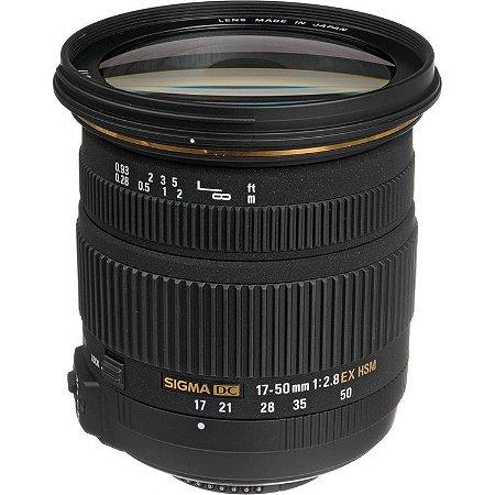 Lente Sigma 17-50mm f/2.8 EX DC OS HSM (para Nikon)